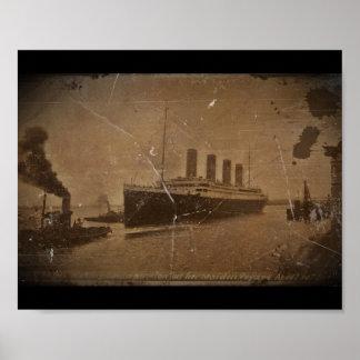 RMS Southhampton titánico Posters