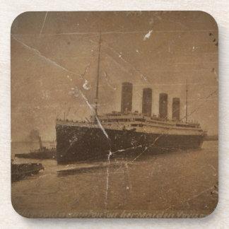 RMS Southhampton titánico Posavasos De Bebida