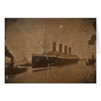 RMS Southhampton titánico Tarjeta De Felicitación