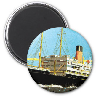 RMS Staffordshire Imán Redondo 5 Cm