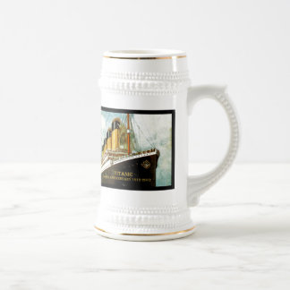 RMS Titanic 100th Anniversary Beer Stein