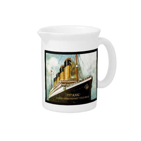 RMS Titanic 100th Anniversary Drink Pitcher
