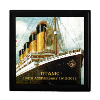RMS Titanic 100th Anniversary Jewelry Box