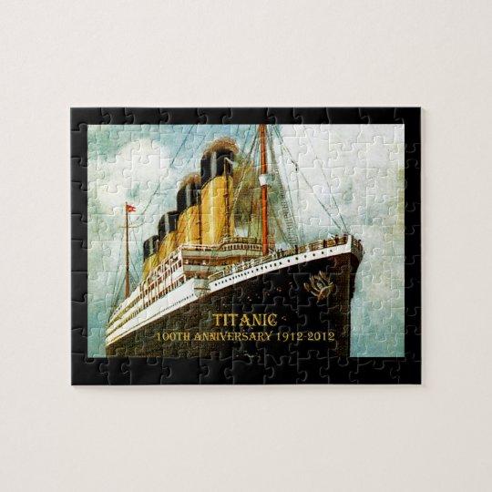 RMS Titanic 100th Anniversary Jigsaw Puzzle