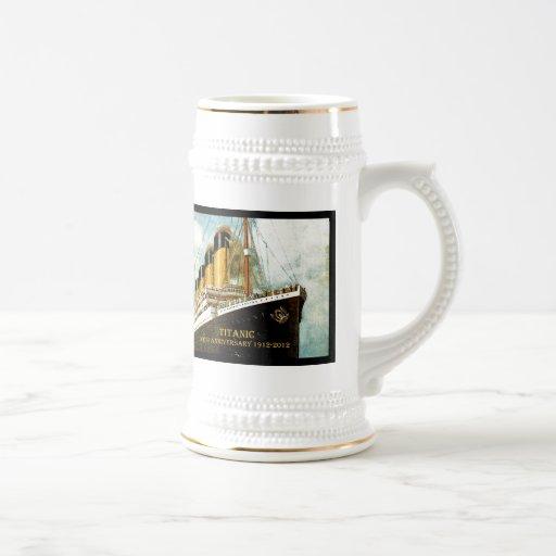 RMS Titanic 100th Anniversary Mugs