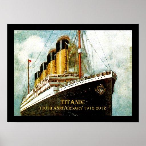RMS Titanic 100th Anniversary Poster
