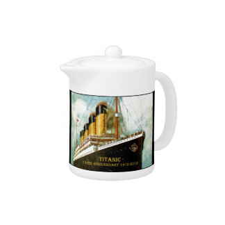 RMS Titanic 100th Anniversary Teapot