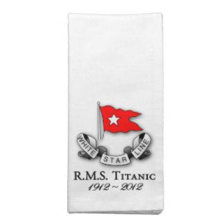 RMS Titanic 1912-2012  American MoJo Napkins