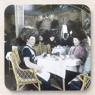 RMS Titanic 1st Class Passengers Enjoy Luxury Drink Coaster