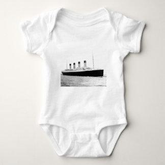 RMS Titanic Baby Bodysuit