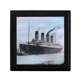 RMS Titanic Belfast Ireland Vintage Keepsake Box