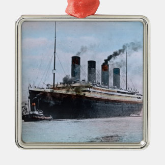 RMS Titanic Belfast Ireland Vintage Metal Ornament