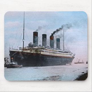 RMS Titanic Belfast Ireland Vintage Mouse Pad