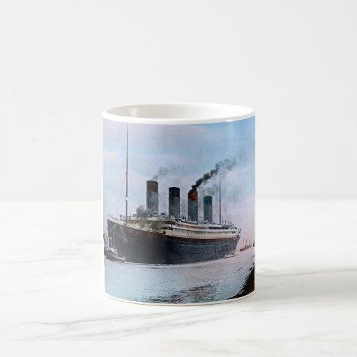 RMS Titanic Belfast Ireland Vintage Coffee Mugs