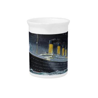 RMS Titanic Beverage Pitchers