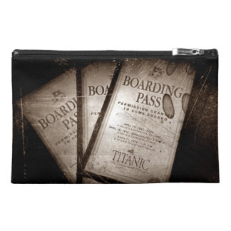RMS Titanic Boarding Passes Travel Accessory Bag