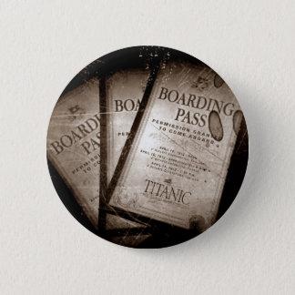 RMS Titanic Boarding Passes Button