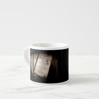 RMS Titanic Boarding Passes Espresso Cup