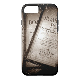 RMS Titanic Boarding Passes iPhone 8/7 Case