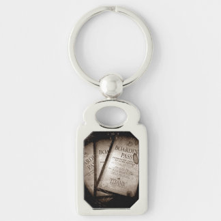 RMS Titanic Boarding Passes Keychain