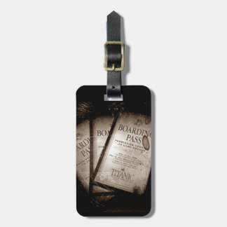 RMS Titanic Boarding Passes Tag For Luggage