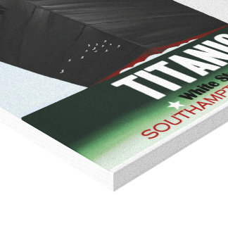 RMS Titanic Stretched Canvas Prints