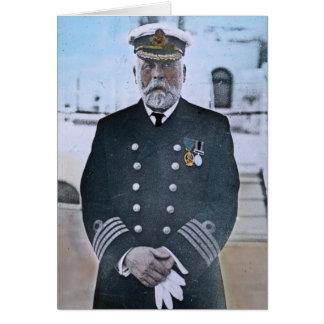 RMS Titanic Captain Edward J. Smith Card