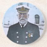 RMS Titanic Captain Edward J. Smith Beverage Coasters