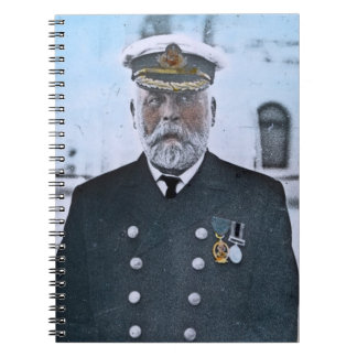 RMS Titanic Captain Edward J. Smith Spiral Note Books