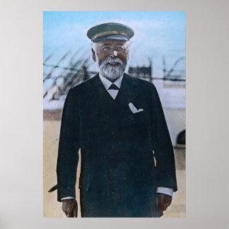 RMS Titanic Captain Edward John Smith Poster