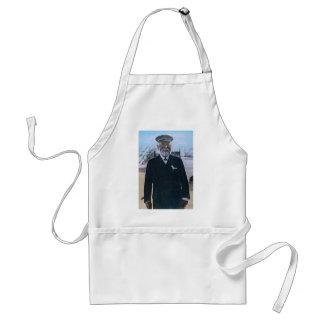 RMS Titanic Captain Edward Smith Vintage Adult Apron