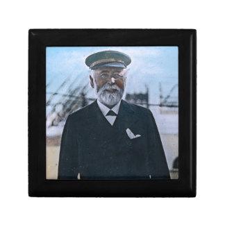 RMS Titanic Captain Edward Smith Vintage Keepsake Box