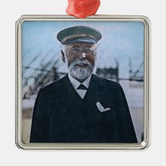 RMS Titanic Captain Edward Smith Vintage Metal Ornament