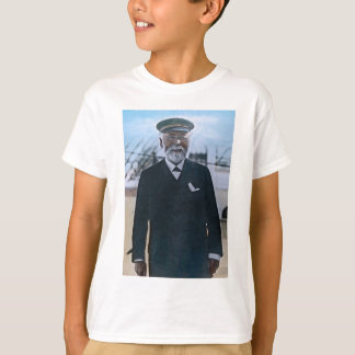 RMS Titanic Captain Edward Smith Vintage T-Shirt