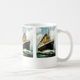 RMS Titanic Classic White Coffee Mug