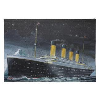 RMS Titanic Cloth Placemat