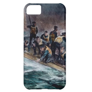 RMS Titanic Crew Escapes Behemoth Sinks Cover For iPhone 5C