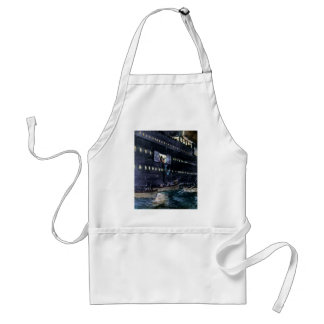 RMS Titanic Escape to the Lifeboats Quickly! Adult Apron