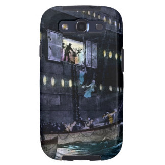RMS Titanic Escape to the Lifeboats Quickly Galaxy SIII Cover