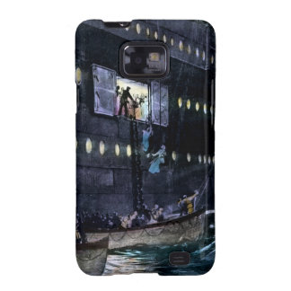 RMS Titanic Escape to the Lifeboats Quickly Samsung Galaxy S2 Covers