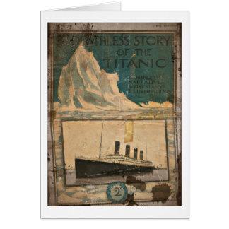 RMS Titanic Illustrated Narrative Card