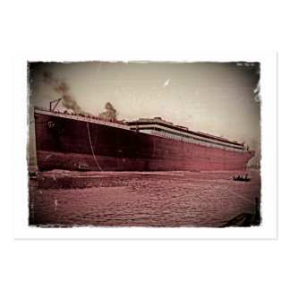 RMS Titanic Maiden Voyage Large Business Cards (Pack Of 100)
