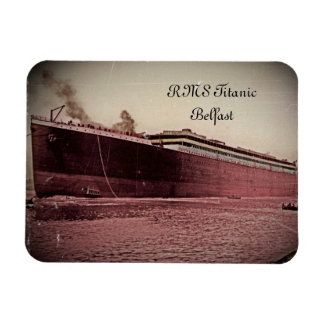 RMS Titanic Maiden Voyage Rectangular Photo Magnet