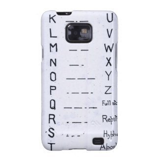 RMS Titanic Morse Code Vintage S O S Galaxy SII Covers