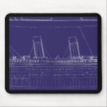 """RMS Titanic Original Blueprint, Enhanced for Color Mouse Pad<br><div class=""""desc"""">RMS Titanic was a passenger liner that sank in the North Atlantic Ocean on 15 April 1912 after colliding with an iceberg during her maiden voyage from Southampton to New York City. The sinking of Titanic caused the deaths of 1, 514 people in one of the deadliest peacetime maritime disasters...</div>"""