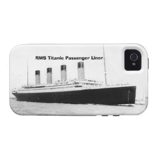 RMS Titanic Passenger Liner iPhone 4/4S Covers