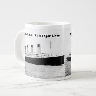 RMS Titanic Passenger Liner Jumbo Mug 20 Oz Large Ceramic Coffee Mug