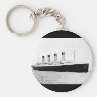 RMS Titanic Passenger Liner Key Chains