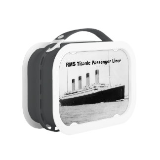 RMS Titanic Passenger Liner Lunch Box