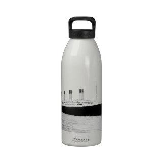 RMS Titanic Passenger Liner Reusable Water Bottle